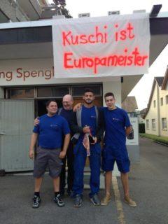 Europameister Kuschi